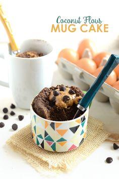 Coconut Flour Mug Cake - Fit Foodie Finds