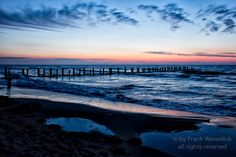 blue Hour on the Baltic Sea, Zingst Germany