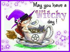 may you have a witchy day! Witch Spell, Pagan Witch, Witches, Wiccan Home, Witch Pictures, My Photo Gallery, My Fantasy World, Witch Art, Good Morning Greetings