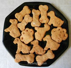 Peanut Butter Dog Biscuit Recipe - Easy Dog Treat Recipe  