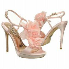 Badgley Mischka Women's Adele Shoes (Pink Satin) (300×300)