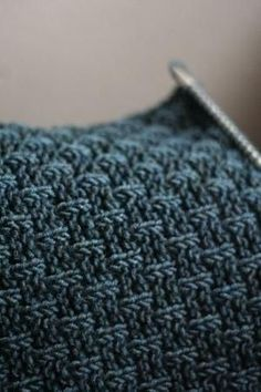 I love this knit stitch. Cast on multiples of 4. Knit all right side (odd) rows. Row 2 and 4: p1k3 across. Row 6 and 8: k2, *p1k3 across to end, end with p1k1. Repeat 8 rows for pattern. Or for Row 6 and 8, start with a k1 and end with p1k2 by Moniboo by Magda Mansi