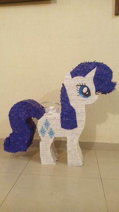 Piñata My Little Pony Rariti Caricatura - $ 329.00 en Mercado Libre