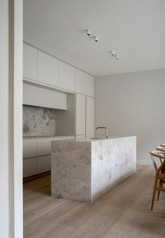 Sneak peek of our latest project in London, a complete renovation of an old Mews house. With subtle hues, bespoke details and inbuilt millwork we pay tribute. Interior Desing, Interior Design Inspiration, Interior Architecture, Architecture Life, Nordic Interior, Mews House, Kitchen Taps, Kitchen Units, Cuisines Design