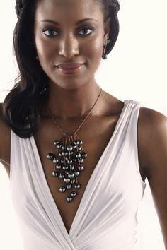 Fifty Six Tahitian Pearls. Enough said.