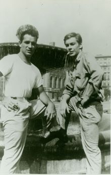 // Jack Kerouac and Lucien Carr