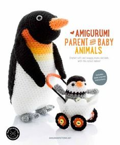 Amigurumi parent and baby animals[crochet book]
