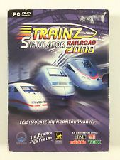 Jeu Trainz Railroad Simulator 2008 Sur PC (train)