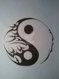 yin yang designs - Google Search                                                                                                                                                                                 More