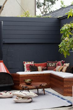 smitten studio // sarah sherman samuel » Blog Archive » home progress: patio, DIY built-in seating
