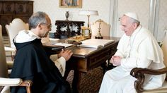 The Holy Father Receives the Master of the Order | Order of preachers