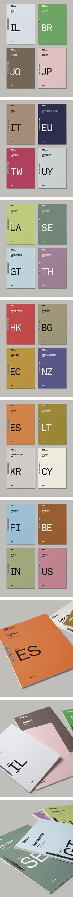 Covers for reports on privacy laws in individual countries