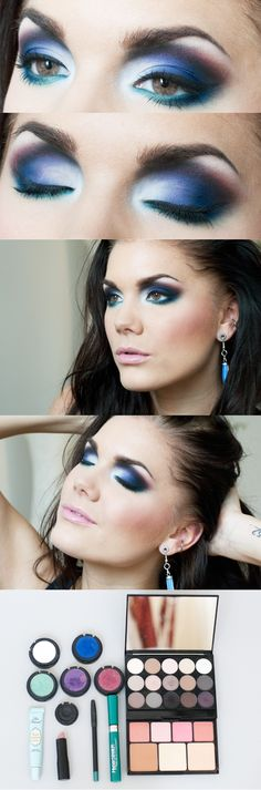 Today's look - Don't  count the miles, count the I love yous   Linda Hallberg - makeup artist