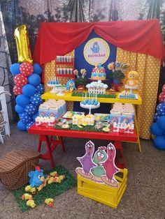 Baltazar's Gallina Pintadita party | CatchMyParty.com