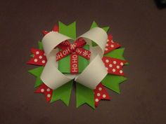 Christmas Present Bow by KenziesCloset08 on Etsy, $13.50