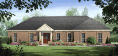 HDC-1570-1-The Pebble Creek is a 1,570 sq. ft./ 3 bedroom/ 2 bath house plan that you can purchase for $690.00 and view online at http://www.homedesigncentral.com/detail.php?planid=HDC-1570-1.