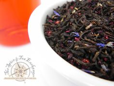 Blueberry Black Tea from the Spice & Tea Exchange ...THIS IS DIVINE!