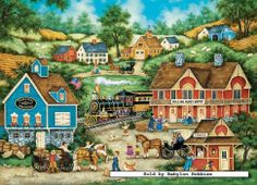 Rolling Acres  (204 pieces) Image copyright: Bonnie White