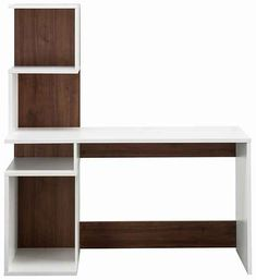 Home Office, Office Desk, Study Table Designs, Tv Wall Design, Home Room Design, House Rooms, Home Organization, Bookcase, Shelves