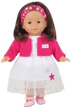 "Corolle Collectible Dolls Vanilla Brunette Classic 14"" M2191"