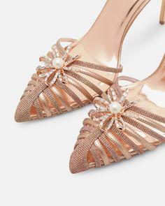 5f663e71a2d30  WedWithTed  TedBaker  Contest - Embellished sling-back heels - Rose Gold