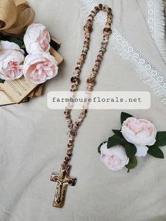 Clay Garden Rosary Beads