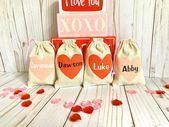 Personalized Valentine's Day Gift, Valentine's Gift for Kids, Valentine's Day Party Favors, Class Favors, Gift for Valentines. by on Etsy Happy Valentines Day Pictures, Valentine Gifts For Kids, Valentines Day Couple, Valentines Day Treats, Kids Gifts, Birthday Favors, Party Favors, Valentinstag Party, Personalized Valentine's Day Gifts
