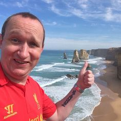 Just been to see the 12 Apostles on the Great Ocean Road. #australia #holidays #downunder #greatoceanroad #12apostles #twelveapostles #selfie #LFC by misterdaz http://ift.tt/1ijk11S