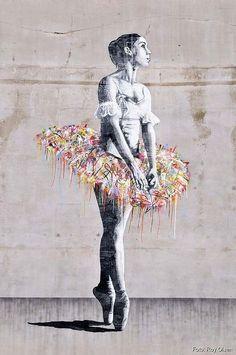 whatjanesaw: JR - street art