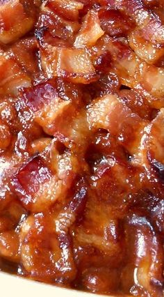 Southern Style Baked Beans: Awesome Recipe, Especially For Bacon Fans!!