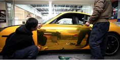 50*200cm Car Sticker Waterproof Car Carbon Fiber Vinyl DIY Car Decorative Plating Film Gold and Sliver Stickers