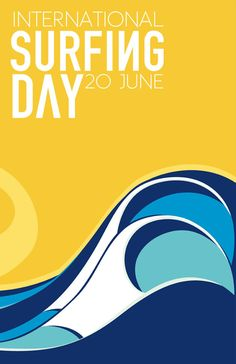 International Surfing Day 2011 art by Tom Veiga.  To go with my Barrel print