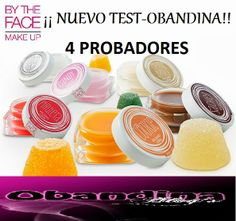 Obandina Blog´s: Test-Obandina con By The Face Make Up 4 Probadores
