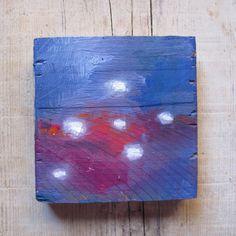 minimal painting, abstract painting, original artwork, original painting, square painting, small painting, abstract artwork, oil landscape de MariaMazaPaintings en Etsy