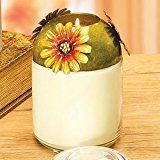 Candle Jar Topper - Sunflower
