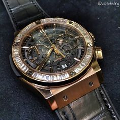 Hublot Fusion, perfectly iced!