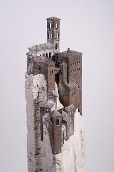Kunstwerk Cittá isolata - Tom Seerden | KunstKoning.com