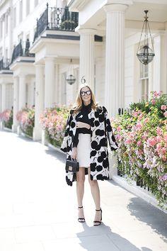 Milly coat in London
