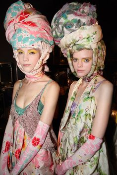 Cool Chic Style Fashion: KENZO | V Museum London 12 Nov 2010 | Antonio Marrras backstage