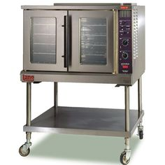 "Lang Commercial Electric Commercial Oven - E Series - Single Deck - 40.2"" Wide - ECOF-AP1 - Convection Ovens - ZESCO.com"