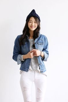 Denim Wash Jacket