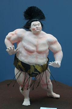 """Art Dolls"" Puppets, Art Dolls, Sumo, Japanese, Japanese Language, Dolls, Sock Puppets"