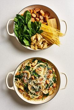 Healthy dinner recipes 367817494570278403 - One-Pot Pasta Recipes – Easy Pot Pasta Meal Ideas Healthy One Pot Meals, Easy Meals, Healthy Eating, Healthy Recipes, One Pan Meals, Best Pasta Recipes, Easy Dinner Recipes, Cooking Recipes, Pasta Recipes Linguine