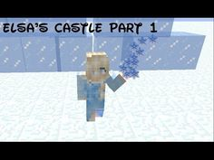Minecraft Map Showcase Elsas Frozen Ice Castle And Arendelle - Minecraft hauser map