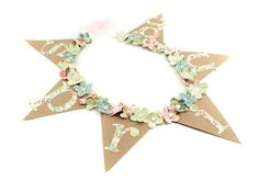 Spring Banner by Pebbles in my Pocket made from Crate Paper Pretty Party