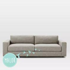 sillon sofa austria 2 cuerpos linea premiun en chenille