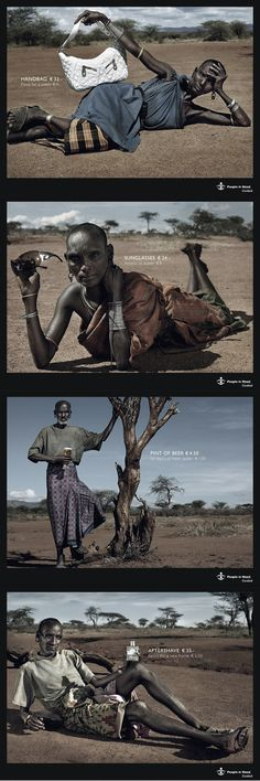 Ads that trigger awareness #poverty #water
