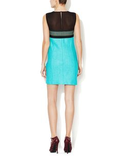 Metallic Colorblocked Mini Dress from Dress Shop: Special-Occasion Dresses on Gilt