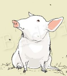 A pig in a poke, Is no laughing joke; Nor a pig on a spit, Or roasting in a pit; But a pig in a straw hut, Is just a plain old nut; So's one in a house of sticks, Instead of one made of bricks; And the pig in a poorly made home, One made with a straw or stick dome; And if the wolf's hunger is anything but; The pig may it find itself in a rut, And if its feet give out and quit, There may yet be a pig on a spit; There may yet be a pig in a poke, And, for the pig - that's still no laughing…