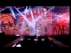 Glee Don't Stop Believing X Factor Live Performance Glee Live On X Facto...